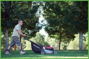 Reduce Stress Mowing